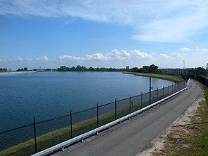 Hillview Reservoir - Southwestern portion