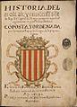 Historia del molt alt y invictissim senyor lo Rey Don Jayme de Aragon-1619-f1r.jpg