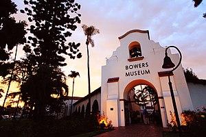 Bowers Museum - Belltower Entrance