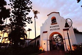 Bowers Museum Art museum, cultural art in Santa Ana, California