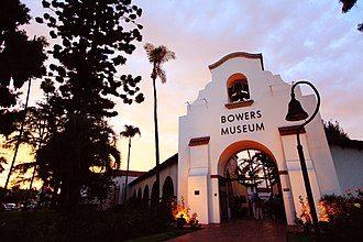 Bowers Museum - Belltower Entrance