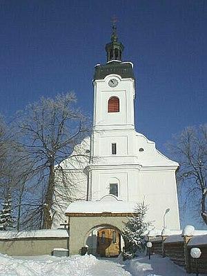Hladovka - Image: Hladovka Templom
