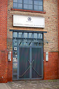 Hoechster Porzellanmanufaktur Eingang