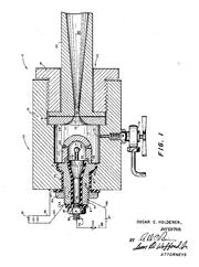 Holderer wind tunnel patent