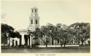 Holy Trinity Church, Bangalore - Image: Holy Trinity, Bangalore (Penny, 1922, p.215)