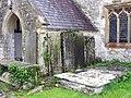 Holy Trinity, Llandow, Glamorgan - Porch - geograph.org.uk - 539580.jpg