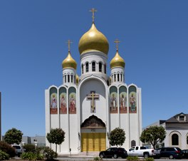 Holy Virgin Cathedral, Russian Orthodox Church, San Francisco, California LCCN2013630094.tif