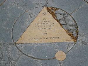 "Joan Brossa - ""Homenatge a Joan Brossa"" in Barcelona"