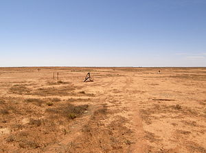 Uranium mining - Trial well field for in-situ recovery at Honeymoon, South Australia