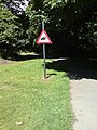Horse trail sign, Bramley Fall Park - geograph.org.uk - 842199.jpg