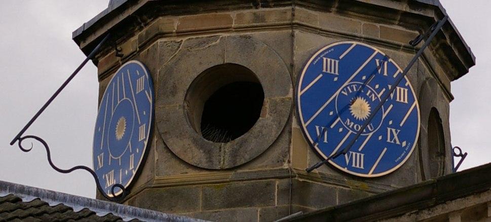 Houghton Hall Norfolk UK 4-face sundial