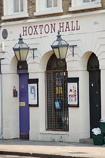 Hoxton Hall community centre and performance space in Hoxton, Hackney, London