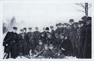 Henryk Dobrzański - Hubal and his partisan unit - winter 1939