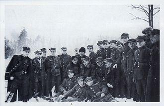 Henryk Dobrzański - Hubal and his partisan unit - winter 1939