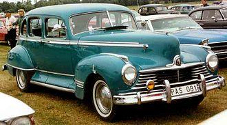 Hudson Commodore - 1947 Hudson Commodore Four Door Sedan