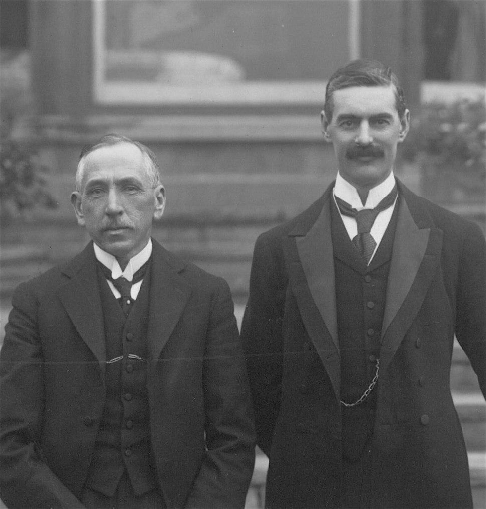 Hughes and Chamberlain - crop