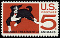 Humane Treatment of Animals 5c 1966 issue U.S. stamp.jpg