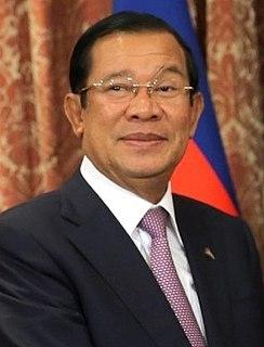 Hun Sen Prime Minister of Cambodia (1984-present)