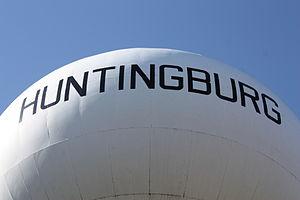 Huntingburg, Indiana - One of Huntingburg's water towers