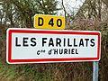 Huriel-FR-03-panneau d'agglomération-Les Farillats-2.jpg