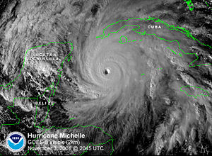 Hurricane Michelle - Image: Hurricane Michelle