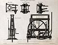 Hydraulics; section and details of the Smeaton pump. Engravi Wellcome V0024481.jpg