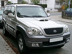 Hyundai Terracan po liftingu