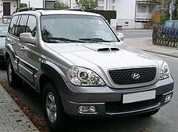 Hyundai Terracan front 20071002