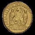 INC-1577-r Ауреус Октавиан Август от 2-1 гг. до н.э. (реверс).png