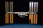 ISS & Endeavour Shadow STS-127 2