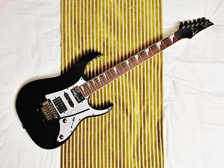 Ibanez RG Series of electric guitars produced by Hoshino Gakki