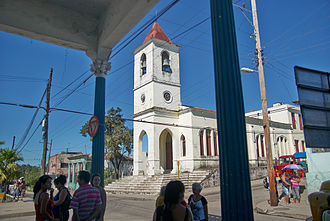 "Manicaragua - Church ""Nuestra Señora del Carmen"" of Manicaragua"