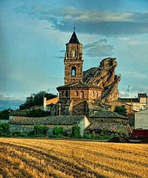 Azara, Huesca - Church in Azara