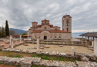 North Macedonia - The church of St. Clement and St. Panteleimon in Ohrid