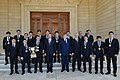 Ilham Aliyev received the members of the national Greco-Roman wrestling team who won the World Cup.jpg