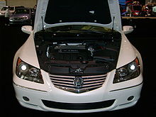 Acura RL Wikipedia - 2005 acura rl front grill