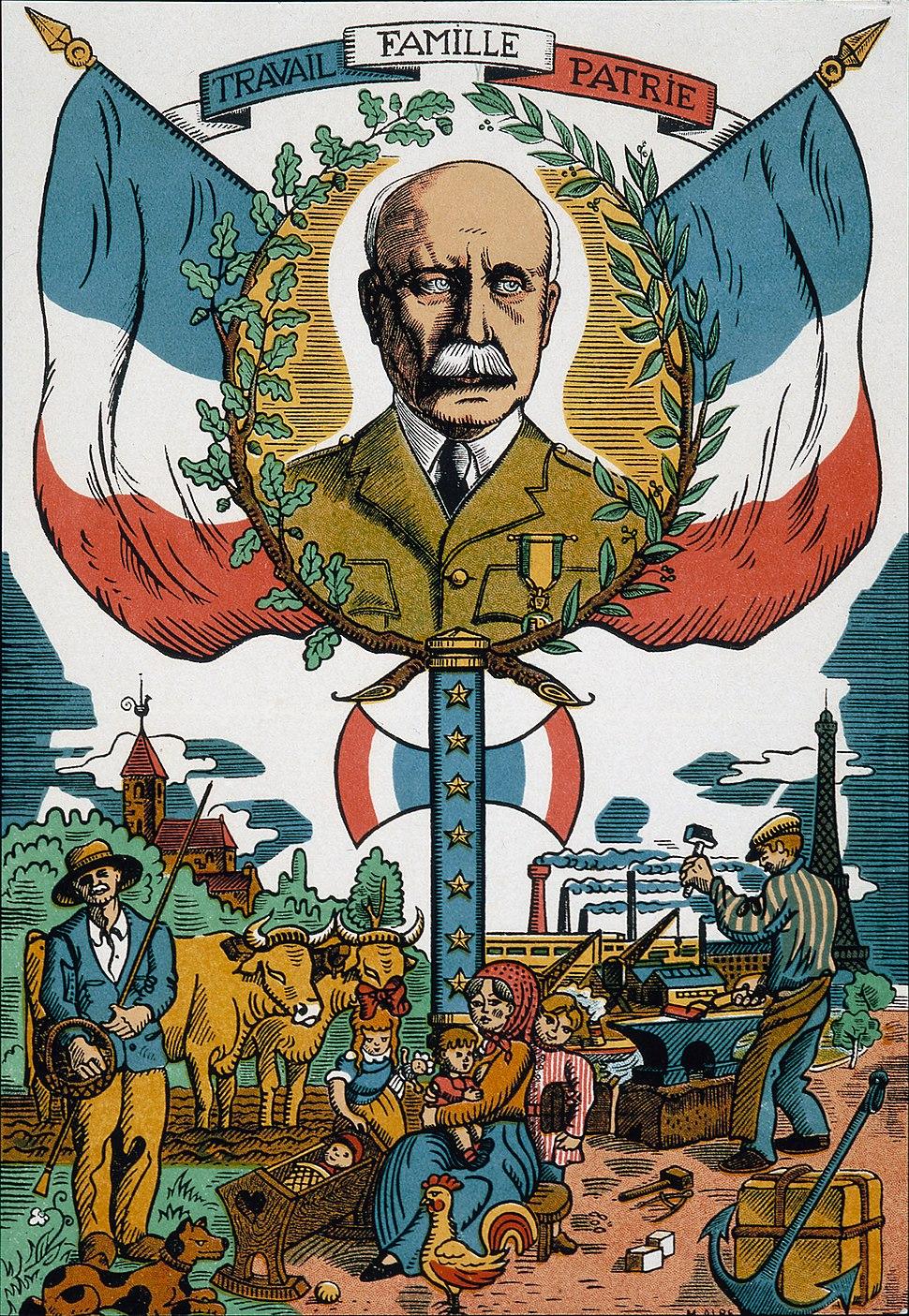 Imagerie de la Révolution nationale