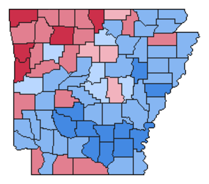 United States presidential election in Arkansas, 1980 - Image: Img.AR pre 1980