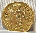 Impero d'occidente, valentiniano III, emissione aurea per galla placidia, 425-455, 02.JPG