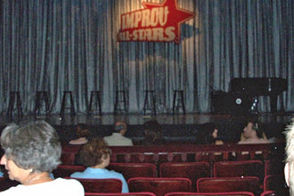 Just for Laughs - Improv All Stars stage, Just For Laughs festival 2003