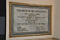 Inauguration Plaque - Birla Industrial & Technological Museum - Kolkata 2012-01-11 7913.JPG