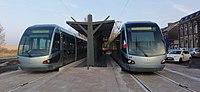 Inauguration de la branche vers Vieux-Condé de la ligne B du tramway de Valenciennes le 13 décembre 2013 (036).JPG
