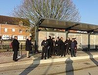 Inauguration de la branche vers Vieux-Condé de la ligne B du tramway de Valenciennes le 13 décembre 2013 (112).JPG