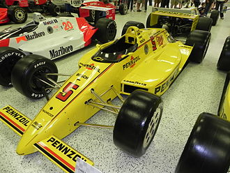 Penske PC-17 - Rick Mears winning PC-17 at the 1988 Indianapolis 500.