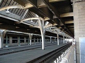 Indianapolis Union Station - Image: Indy Union Station Rails 2