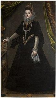 <i>Portrait of Infanta Isabella Clara Eugenia</i> (Anguissola) Painting by Sofonisba Anguissola