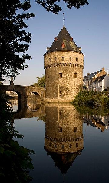 Ingelborchtoren, one of the Broeltorens in Kortrijk