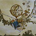 """Interieur, detail van geschilderd behangsel in het kamertje naast de hal op de begane grond (de """"Portierskamer"""") - Middelburg - 20378184 - RCE.jpg"""
