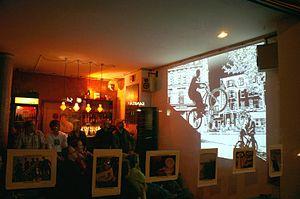 International Cycling Film Festival - 2006: The ICFF's launch in its former venue, the Club Goldkante in Bochum