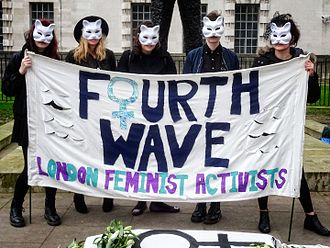 Fourth-wave feminism - International Women's Day, London, 2017